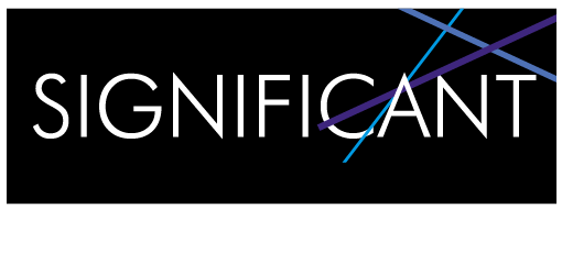 Significant print and design logo